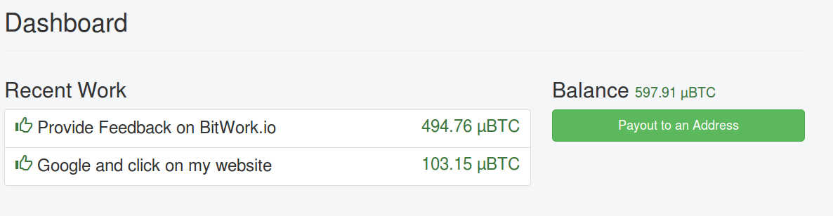 Bitwork Payouts